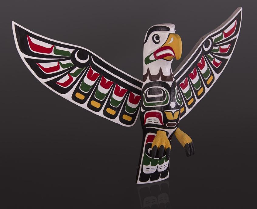 Totemic Eagle Beau Dick Kwakwaka'wakw eagle totem