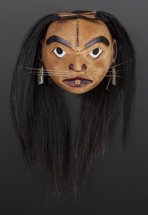 Mouse Woman Shawn Aster Tsimshian Mask