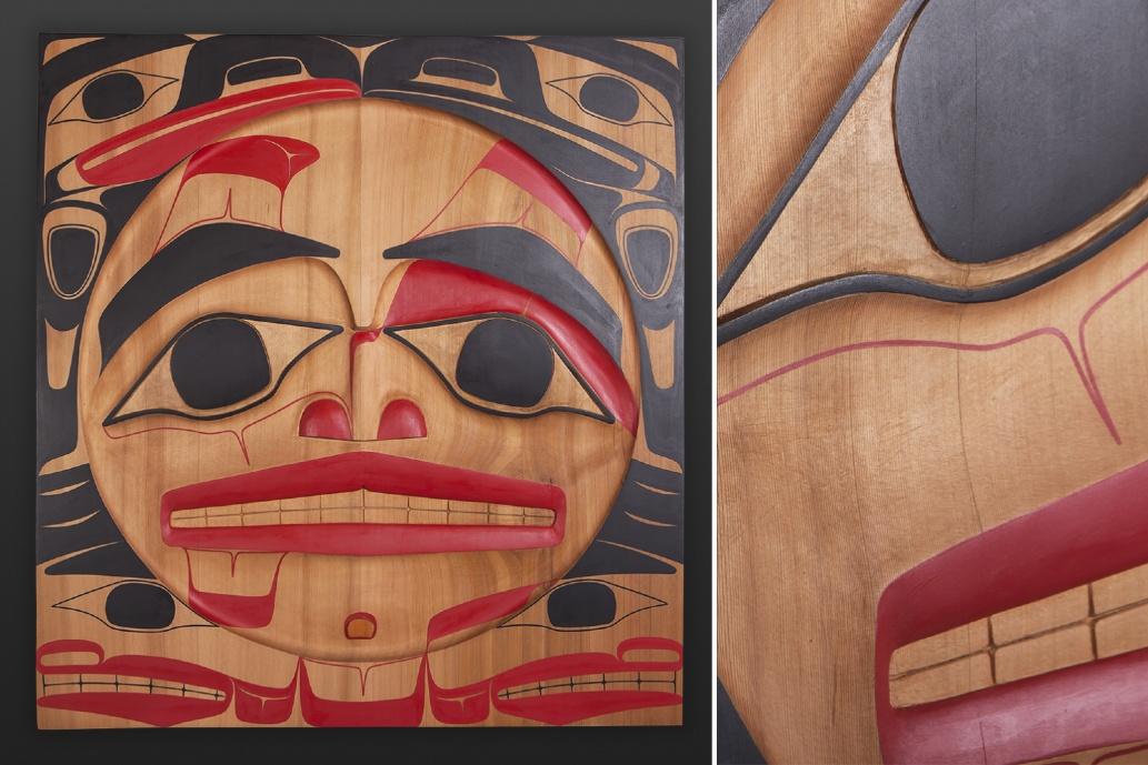 Clan Chief Raven Reg Davidson Haida