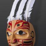 Double Eagle Crest Reg Davidson Haida Potlatch Mask Native art