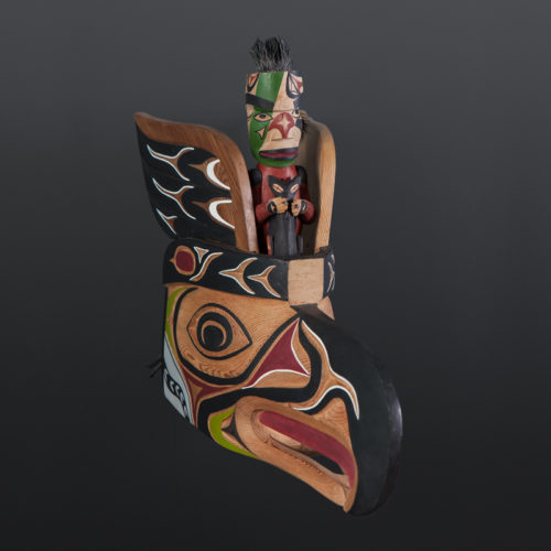Thunderbird Whaler puppet orca George David Nun Chah Nulth