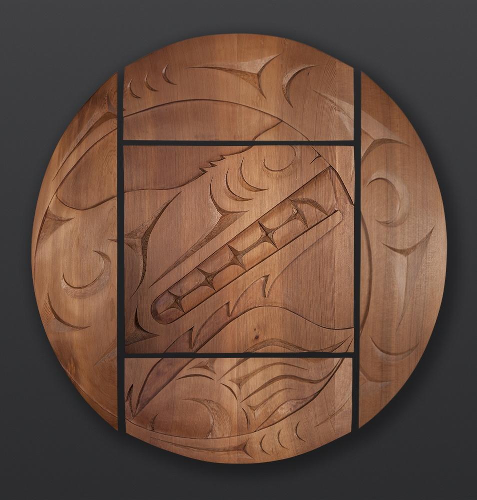 James Madison Tlingit Salish Wolf Mother Red cedar 4800