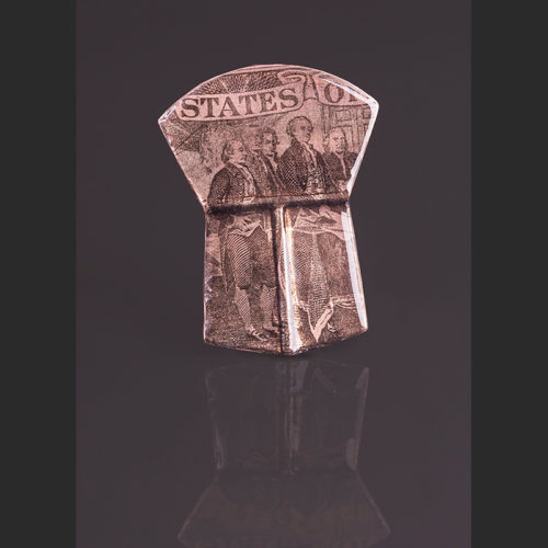 "States Alison Bremner Tlingit Copper Pin 2 1/8""L X 1 ¾""W"