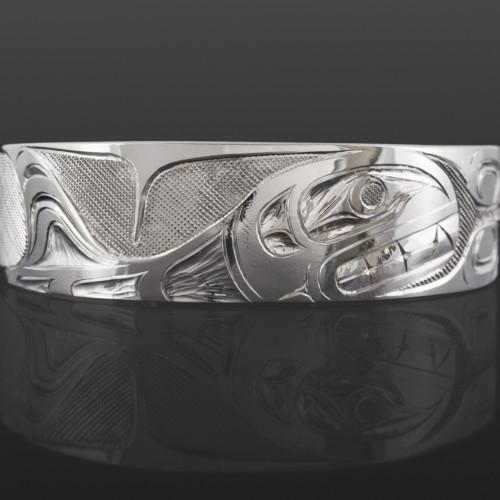 Orca Bracelet Erich Glendale Kwakwaka'wakw Silver $400