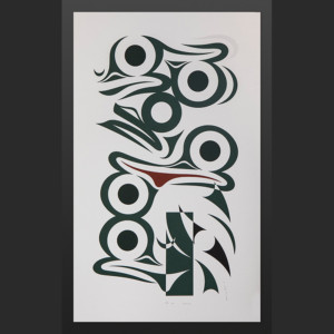Changes Susan Point Coast Salish Silkscreen A/P V/V
