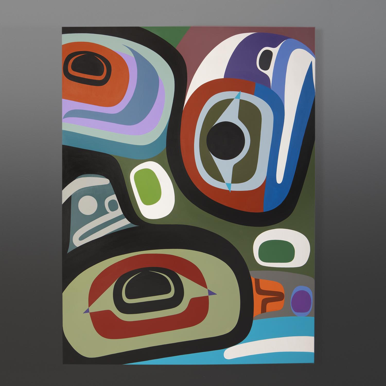 Steve Smith Native Artist contemporary painting